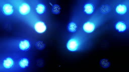 Lights Flashing Spotlight Wall VJ Light Bulb Loop Blue led blinder blinking chromlech club concert dance disco dj matrix beam dmx fashion floodlight halogen headlamp lamp night club party pub vj loop
