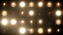 Lights Flashing VJ Blinking Spotlight Wall of Lights