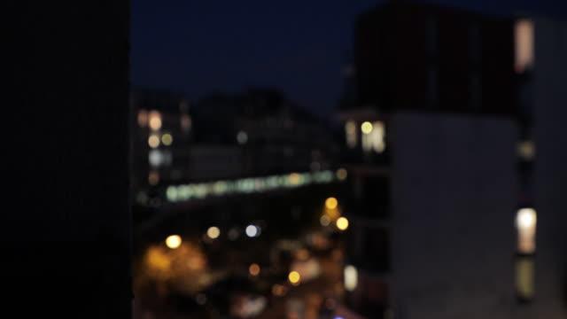 Lights of Train in Paris