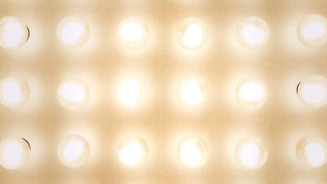 lichtwand - elektrische lampe stock-videos und b-roll-filmmaterial