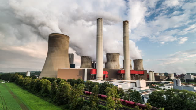 lignite burning power station - power station stock videos & royalty-free footage