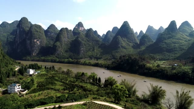 Fluss in Guilin Lijiang