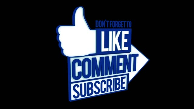 4k like comment subscribe animation - sharing stock videos & royalty-free footage