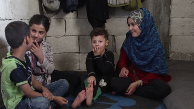 like many of her compatriots 11yearold rahaf is a victim of syria's brutal civil war forced to drop out of school to provide for her family and leave... - other stock videos and b-roll footage