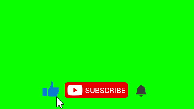 like subscribe ring bell lower third on green screen - subscribe stock videos and b-roll footage
