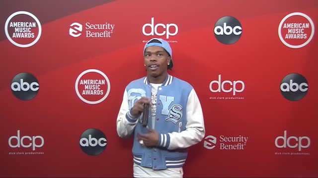 lil baby at the 2020 american music awards at the microsoft theater on november 22, 2020 in los angeles, california. - microsoft theater los angeles stock videos & royalty-free footage