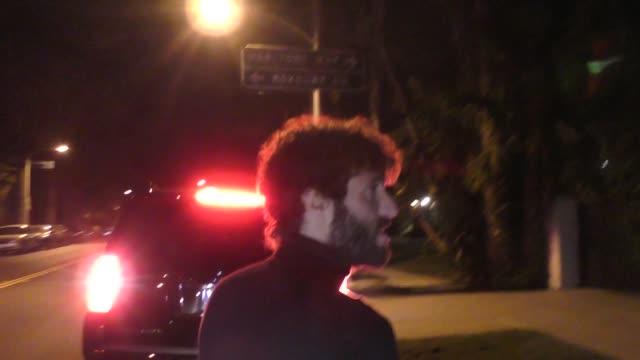 lil dicky outside gary oldman's house in los angeles in celebrity sightings in los angeles, - gary oldman stock videos & royalty-free footage