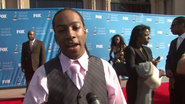 li'l jj on his nomination at the 39th annual naacp image awards at the shrine auditorium in los angeles, california on february 14, 2008. - naacp stock videos & royalty-free footage