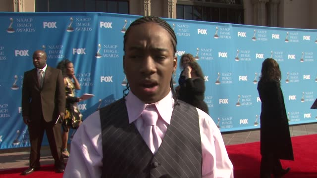 Li'l JJ on his the event at the 39th Annual NAACP Image Awards at the Shrine Auditorium in Los Angeles California on February 14 2008