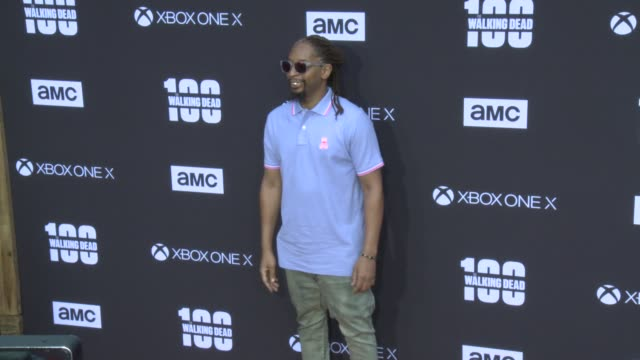 Lil Jon at the AMC's The Walking Dead 100th Episode Season 8 Special Premiere Screening at The Greek Theatre on October 22 2017 in Los Angeles...