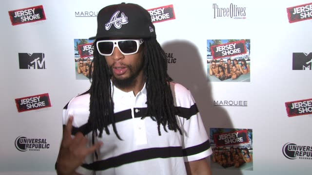 lil jon at the 'jersey shore' soundtrack release party at new york ny - soundtrack stock videos & royalty-free footage