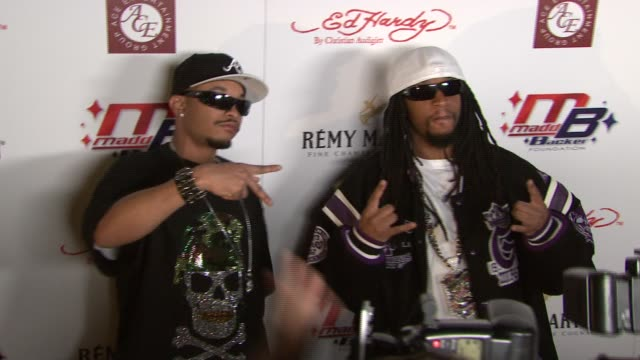 Lil Jon at the Kiss and Tell Party at Playboy Mansion in Los Angeles California on April 22 2007