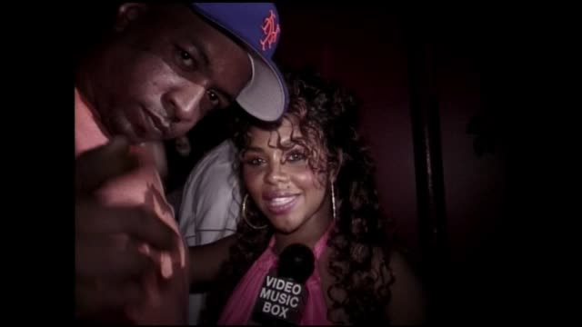 lil kim interview in july of 2005 before serving 12 months in jail - biggie smalls stock videos and b-roll footage