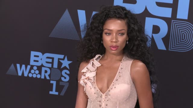 lil mama at 2017 bet awards in los angeles, ca 6/25/17 - bet awards stock videos & royalty-free footage