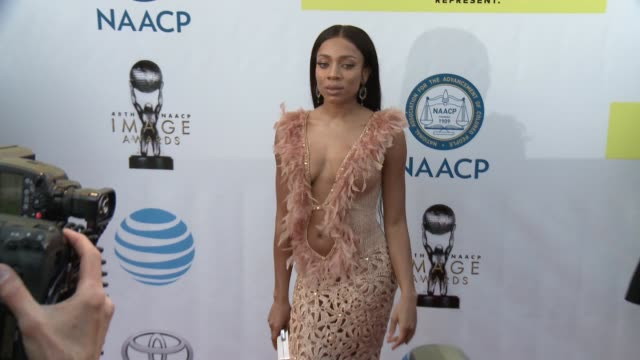 Lil Mama at 48th NAACP Image Awards at Pasadena Civic Auditorium on February 11 2017 in Pasadena California