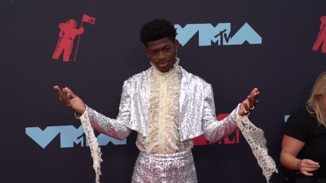 lil nas x at 2019 mtv video music awards at prudential center on august 26, 2019 in newark, new jersey. - mtv video music awards stock videos & royalty-free footage