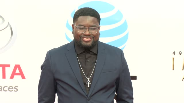 lil rel howery at the 49th naacp image awards at pasadena civic auditorium on january 15, 2018 in pasadena, california. - pasadena civic auditorium stock videos & royalty-free footage
