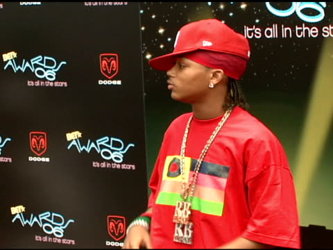 lil' romeo at the 2006 bet awards arrivals at the shrine auditorium in los angeles california on june 27 2006 - black entertainment television stock videos & royalty-free footage