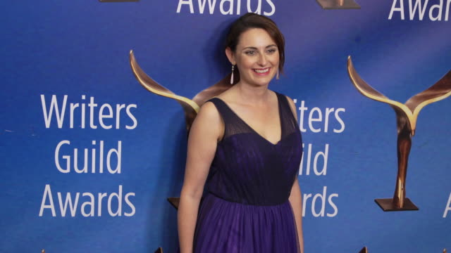 lila byock at the 2020 writers guild awards at the beverly hilton hotel on february 01 2020 in beverly hills california - the beverly hilton hotel stock videos & royalty-free footage