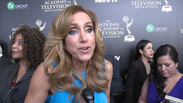 INTERVIEW Lili Estefan on the event at the 2014 Daytime Emmy Awards at The Beverly Hilton Hotel on June 22 2014 in Beverly Hills California