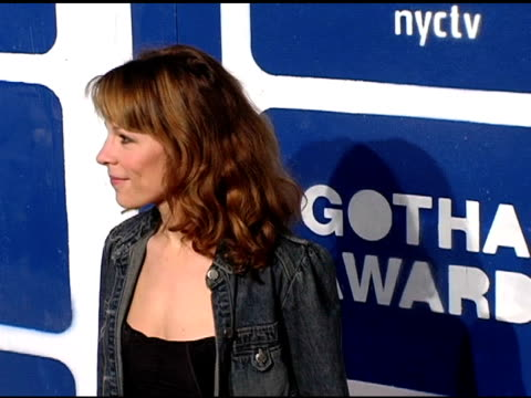 lili taylor at the ifp's 15th annual gotham awards arrivals at pier 60 at chelsea piers in new york, new york on november 30, 2005. - independent feature project video stock e b–roll