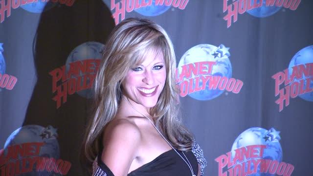 Lilian Garcia Visits Planet Hollywood New York NY United States 3/07/2012