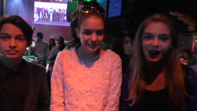 lilimar hernandez rio mangini at the annual children's hospital los angeles holiday party and toy drive at avalon nightclub in hollywood lucky blue... - children's hospital stock videos & royalty-free footage