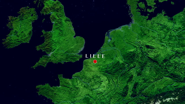 lille  zoom in - lille stock videos & royalty-free footage