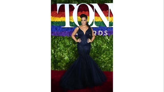 lilli cooper attends the 73rd annual tony awards at radio city music hall on june 09 2019 in new york city - annual tony awards stock videos and b-roll footage