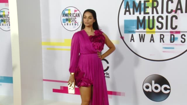 lilly singh at 2017 american music awards on november 19 2017 in los angeles california - american music awards stock videos & royalty-free footage