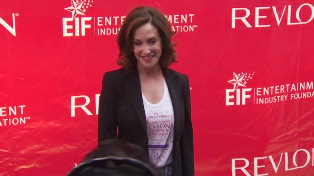 lilly tartikoff at the 13th annual eif revlon run/walk for women at new york ny - revlon stock videos and b-roll footage