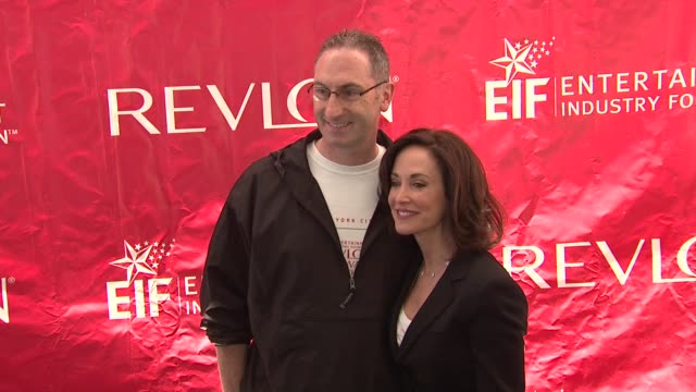 lilly tartikoff at the 14th annual entertainment industry foundation revlon run/walk for women at new york ny - revlon stock videos and b-roll footage