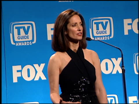 lilly tartikoff at the tv guide awards at the shrine auditorium in los angeles, california on february 24, 2001. - shrine auditorium video stock e b–roll