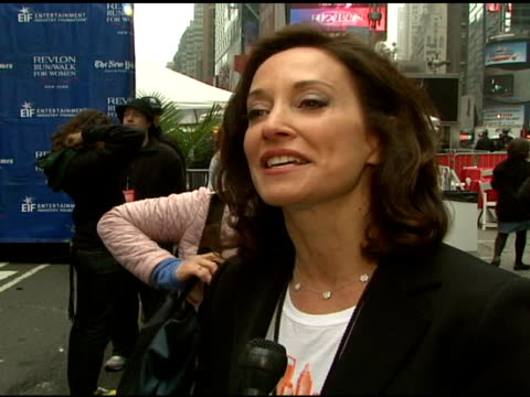 lilly tartikoff talking about how she�s grateful to all the people who come each year epatha hosting the support of other nbc stars who she met... - house husband stock videos & royalty-free footage