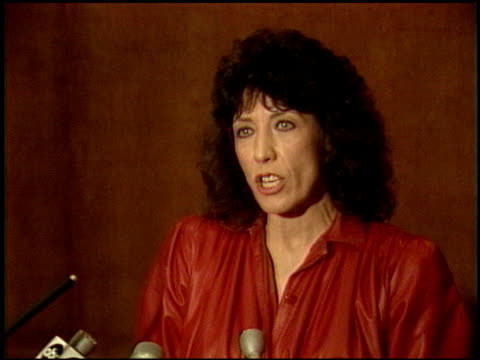 lilly tomlin at the now anniversary at dorothy chandler pavilion in los angeles california on december 1 1986 - pavilion stock videos & royalty-free footage