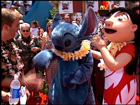 lilo and stitch 1 of 2 at the 'lilo and stitch' premiere at the el capitan theatre in hollywood california on june 16 2002 - el capitan theatre stock videos & royalty-free footage