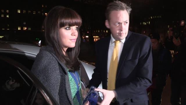 vidéos et rushes de lily allen - celebrity video sightings on february 09, 2013 in london, england - paparazzi