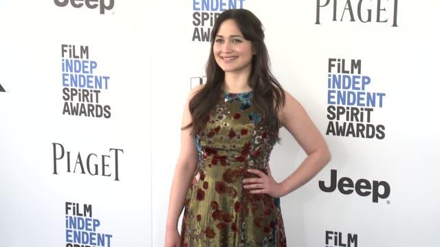 Lily Gladstone at the 2017 Film Independent Spirit Awards Arrivals on February 25 2017 in Santa Monica California