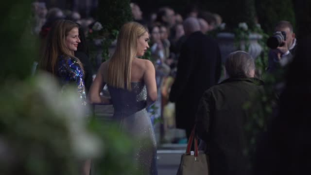 lily james at 'cinderella' uk premiere on march 19, 2015 in london, england. - シンデレラ点の映像素材/bロール