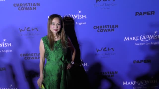 Lily Lisa at the PAPER Magazine Runway Benefit For MakeAWish Foundation on October 24 2017 in Los Angeles California