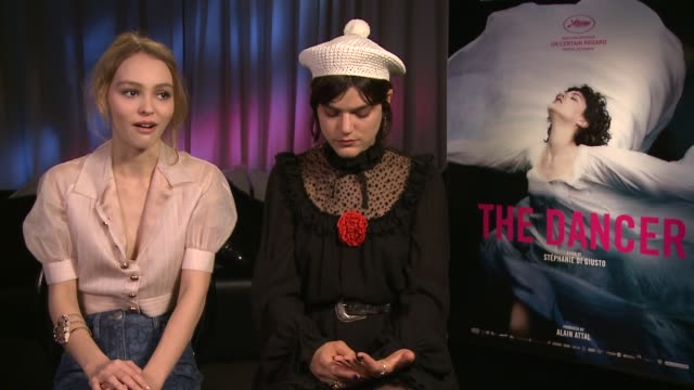 INTERVIEW LilyRose Depp Soko on getting the role at 'The Dancer' Interviews at JW Marriott on May 14 2016 in Cannes France