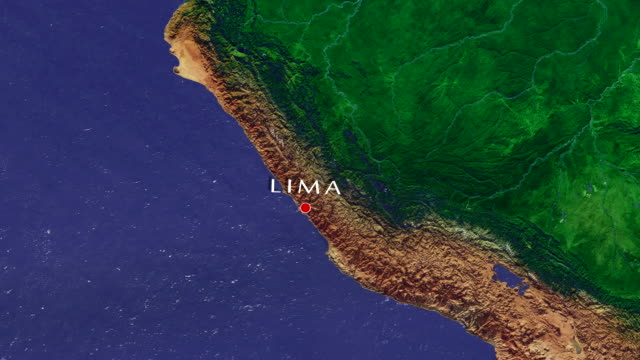 lima 4k  zoom in - lima peru stock videos and b-roll footage