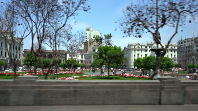 lima historical city - lima peru stock videos and b-roll footage