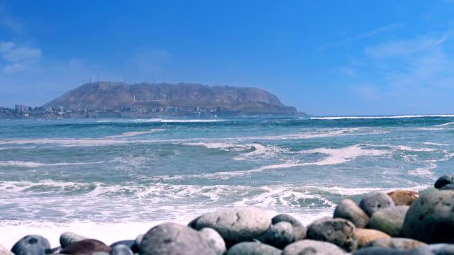 Lima peru cosatline stranden