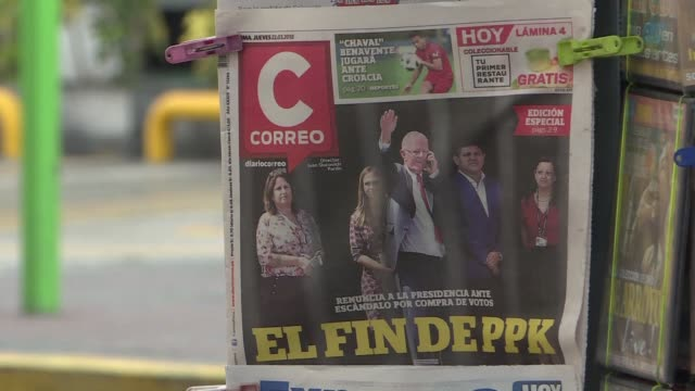 lima residents say they see their country's political crisis as harmful to all peruvians and that it's time for president pedro pablo kuczynski to go... - peruvian ethnicity stock videos and b-roll footage
