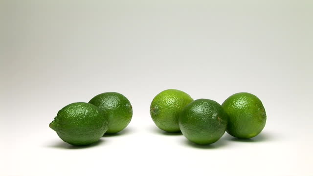 limes - five objects stock videos & royalty-free footage