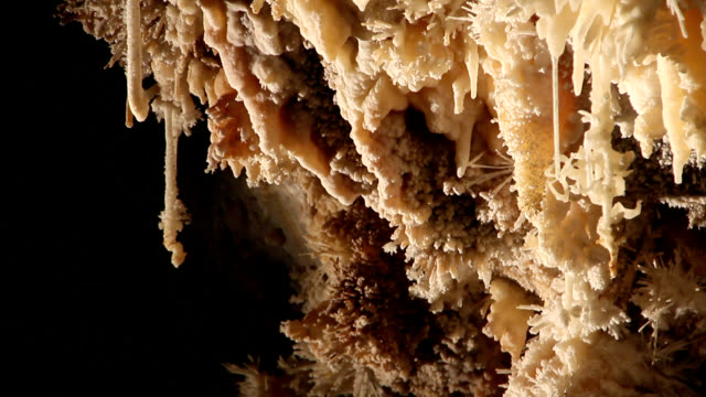 limestone cave formations - aude stock videos & royalty-free footage