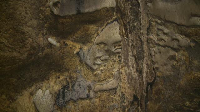 Limestone Walls Of Tempurung  Cave, KL, Malaysia