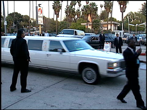 Limo at the Blockbuster Awards at Pantages Theater in Hollywood California on March 6 1996