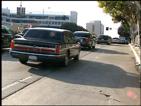 limos at the 1999 academy awards at the shrine auditorium in los angeles, california on march 21, 1999. - 71st annual academy awards stock videos & royalty-free footage